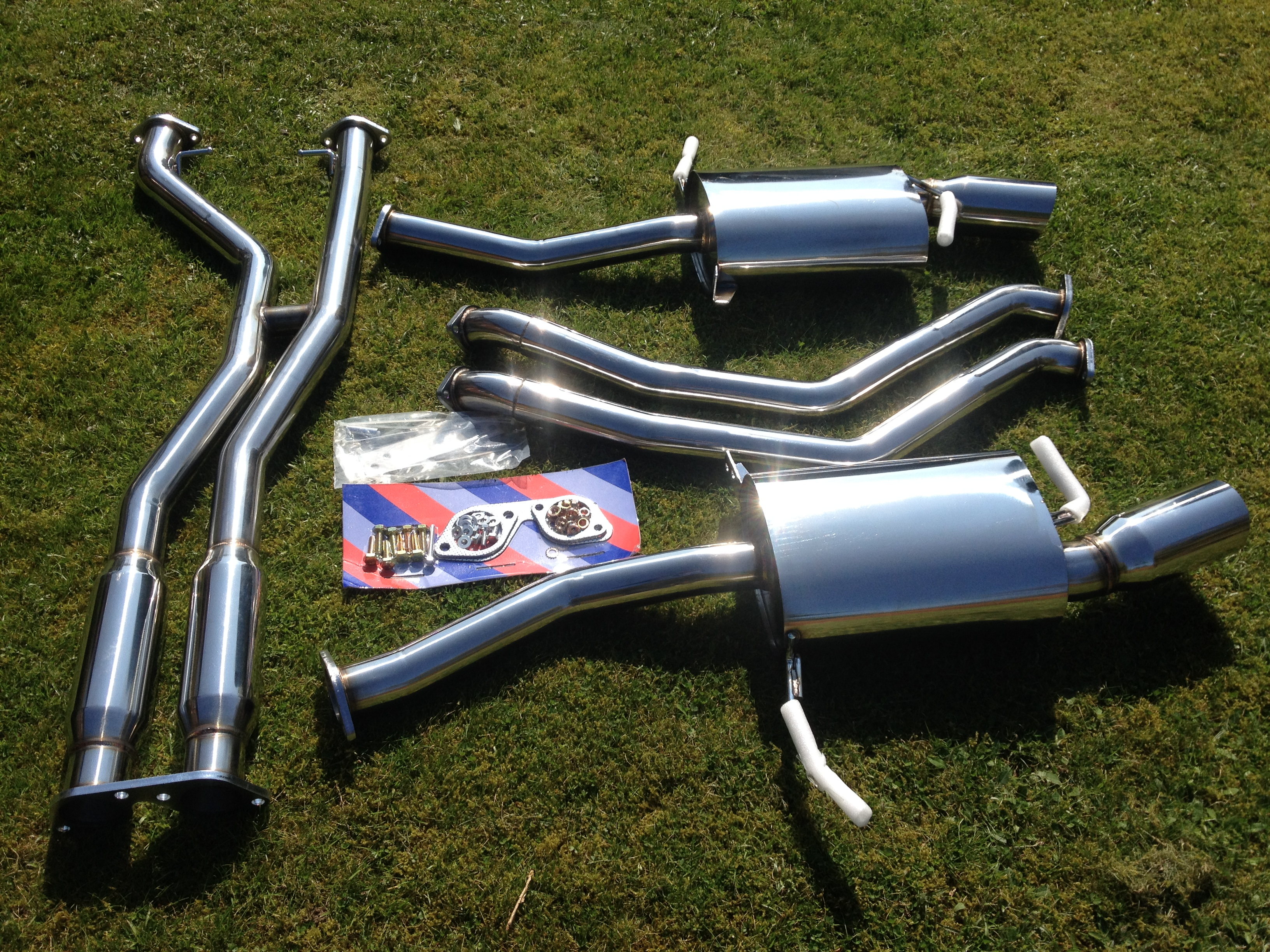 BMW 335i E92 Twin Turbo Primary Cat Back Performance Exhaust System